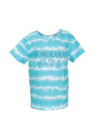 Mininio Mint Honolulu T-Shirt (9ay-4yaş) Mint Honolulu T-Shirt (9ay-4yaş) Renkli